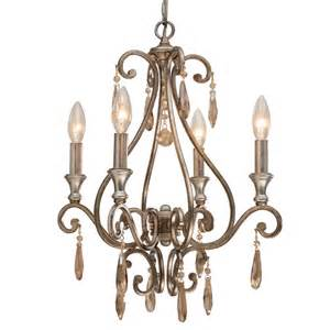 How To Make A Mini Chandelier Shelby Distressed Twilight Mini Chandelier By