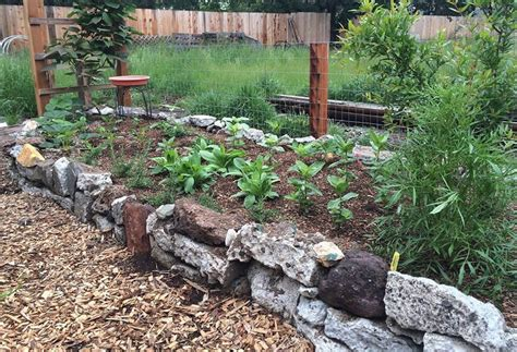 Building Unique Raised Garden Beds Out Of Recycled And Raised Rock Garden Beds