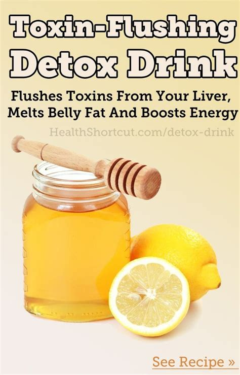 Detox To Lose Belly by Toxin Flushing Detox Drink Flushes Toxins From Your