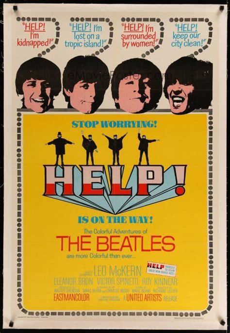 Poster Classic Vintage Help The Beatles emovieposter vintage posters