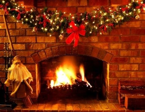 christmas garland at the fireplace pictures photos and