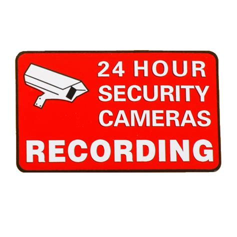 printable security stickers the gallery for gt printable security camera sign