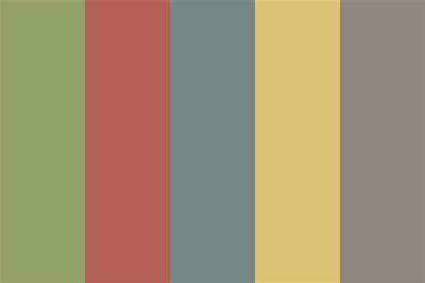 colors palette vintage 2015 color palette