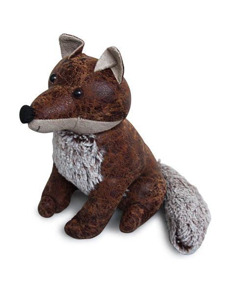 Novelty Door Stops door stop novelty fox door stopper animal faux leather