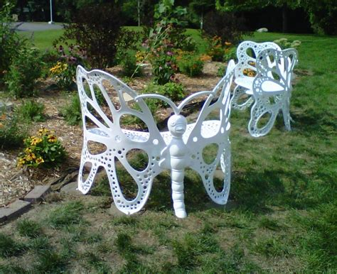 butterfly bench garden amazon com flower house fhbfb06w butterfly bench white