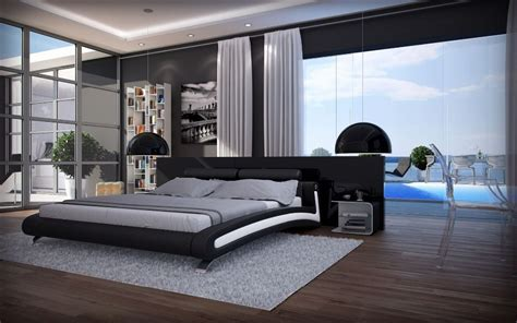 modern style bedroom shop popular modern solid wood bedroom set from china