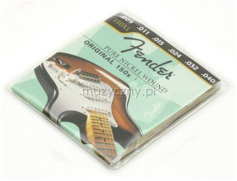 Aegean Senar Gitar String 150xl fender 150xl nickel struny do gitary elektrycznej 9 40