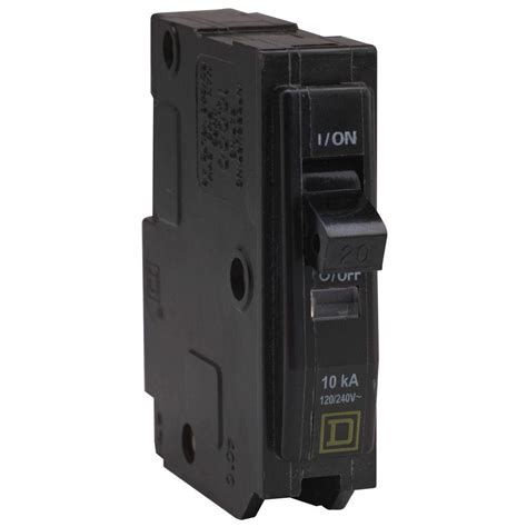 broken circuit breaker square d qo 20 single pole circuit breaker qo120cp