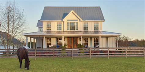 farmhouse home designs this turned a suburban cookie cutter home into a stunning farmhouse couples house and