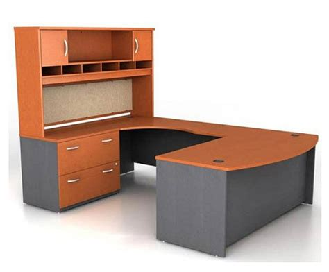 U Shaped Office Desk With Hutch U Shaped Office Desk With Hutch Whereibuyit