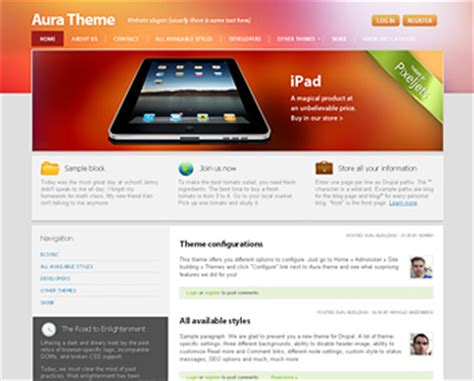 drupal theme list of links our premium free drupal themes drupal and symfony2