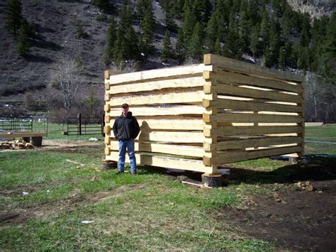 log cabin builder how to build a log cabin with dovetail notches