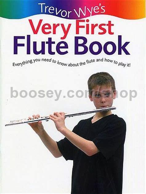 trevor wye flute secrets books wye trevor the trevor wye flute book