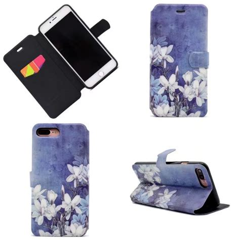 for apple iphone 7s plus 6s 5s fashion wallet stand flip pu leather cover