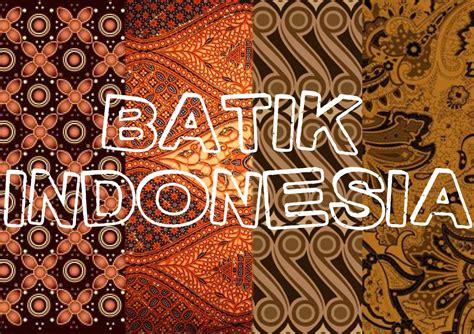 Batik Indonesia cara membuat motif batik tulis yang mudah dan sederhana