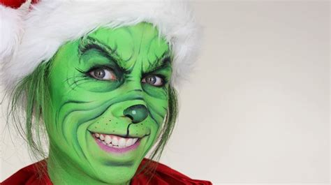 Zombie Grinch Tutorial   the grinch christmas makeup tutorial the grinch