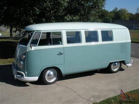 volkswagen minibus 1964 1964 volkswagen bus 11 window safaris walk through