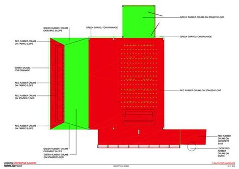 Gallery Floor Plan Serpentine Gallery Pavilion 2010 Detail Magazine Of
