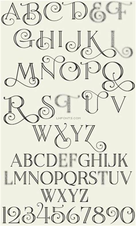 calligraphy font design the 25 best font alphabet ideas on pinterest