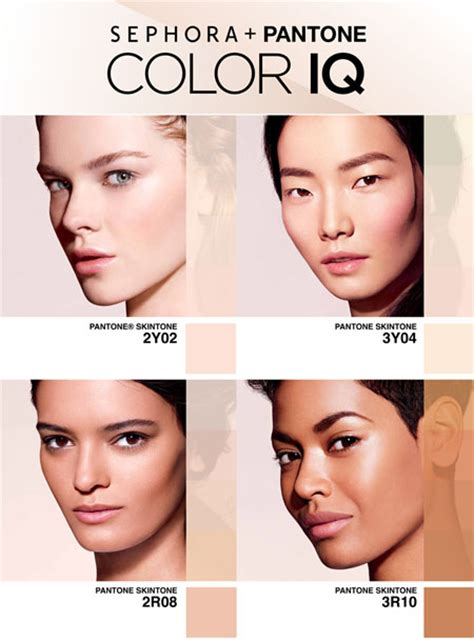 Sephora Knows Is More Than Skin by Pantone Color Iq In Select Sephora Sto Beautytalk