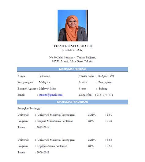 panduan membuat resume ringkas contoh surat lamaran dan cv bahasa indonesia search