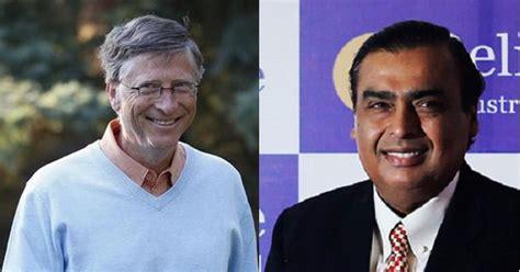 bill gates tops forbes world s billionaires list mukesh ambani richest indian again
