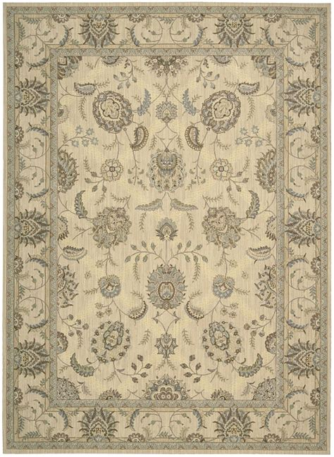 piano pading rug nourison empire pe22 ivory traditional area rug