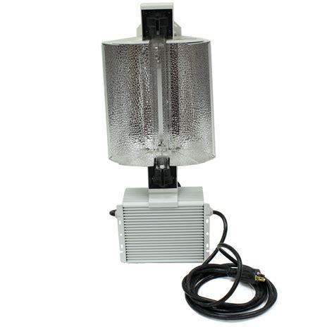 double  de hydroponic grow light kit adjust hood