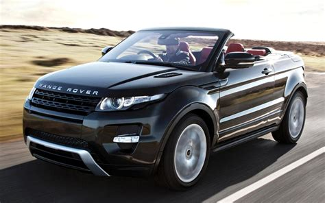 land rover evoque black convertible range rover evoque convertible filmed testing