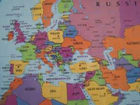 Map Of Europe And Middle East by Europe Middle East And Russia Flat Map Views Visual