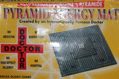 Energy Mat by Pyramid Energy Mat Cures Insomnia Headache Migraine
