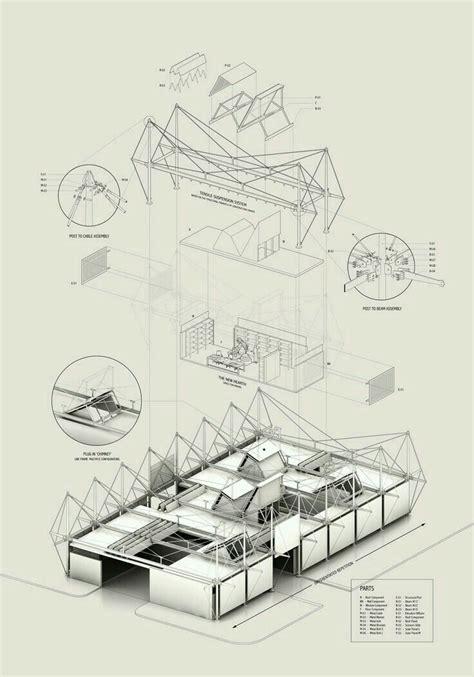 draw architecture diagram croqui presentation ideas