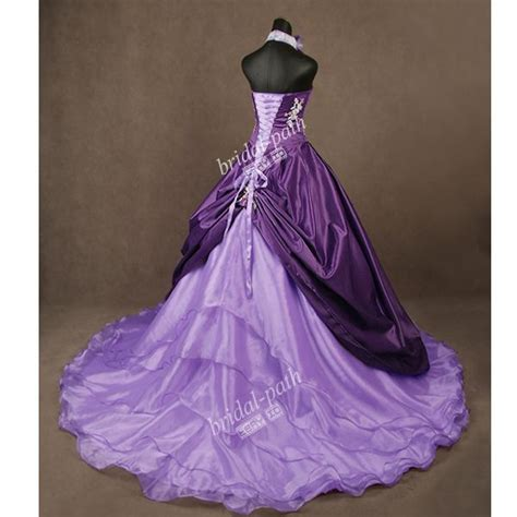 Brautkleider Lila by Stunning Unique Purple Wedding Dress Wedding Gown Bridal