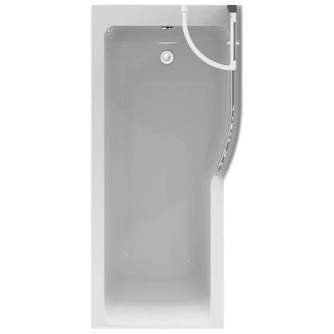 ideal standard concept shower bath ideal standard concept air 1700 x 800mm right idealform shower bath