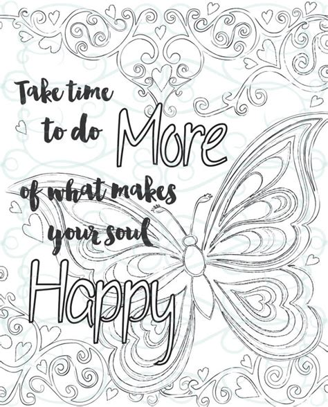 inspirational coloring pages printable adult inspirational coloring page printable 01 make your