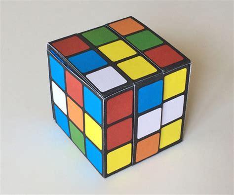 printable paper rubik s cube paper rubik s cube unsolved