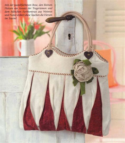 Burda Patchwork - ulla s quilt world bag quilts
