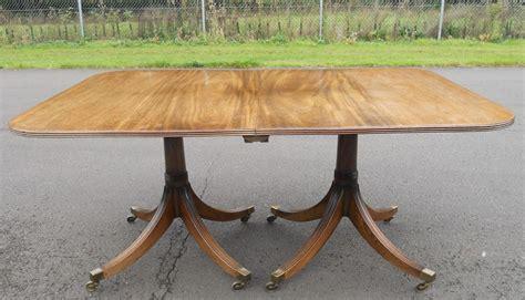 ten seat dining table mahogany pillar dining table to seat ten