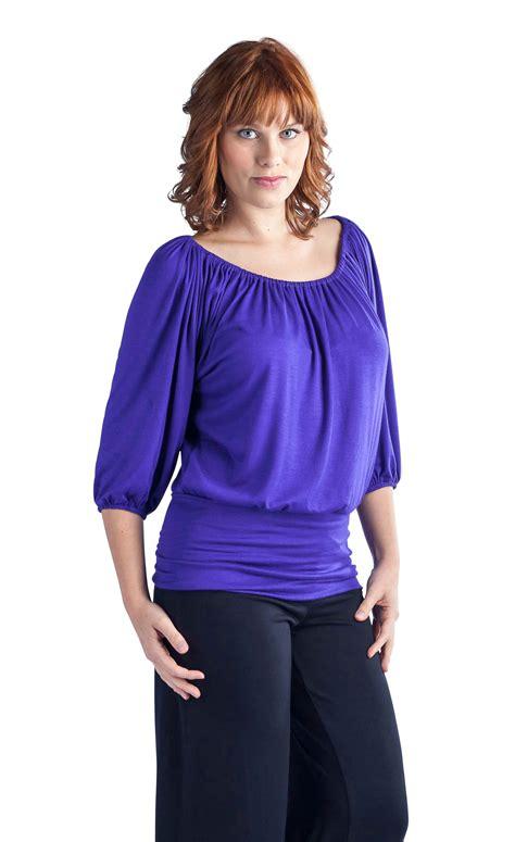 Banded Waist 24 7 comfort apparel s banded waist top ebay