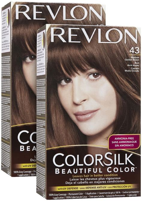 Revlon Colorsilk revlon colorsilk with uv defense hair dye review