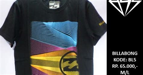 Baju Billabong Original surf skate tees baju kaos billabong t shirt tees