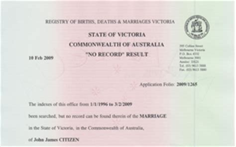 Unmarried Certificate Letter Marriage Certificate Status