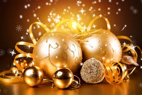 wallpaper free s day decoration picture gold color balls holidays