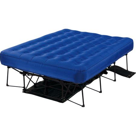 insta bed tm automatic frame system   queen air bed