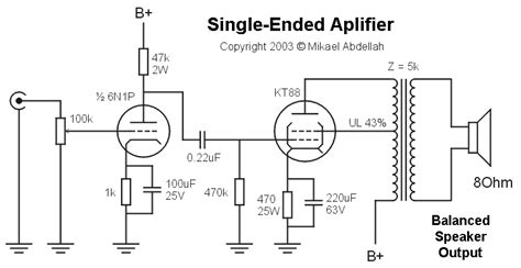 transistor single ended lifier balanced vs unbalanced