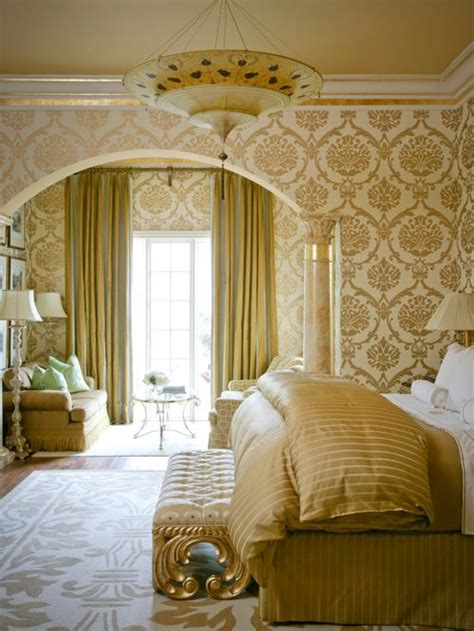 gold walls bedroom gold bedroom home design ideas pictures remodel and decor