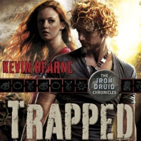 iron in my books trapped kevin hearne