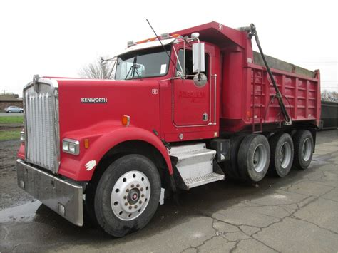 kenworth w900b kenworth w900b dump trucks for sale used trucks on
