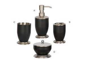 Medicine Cabinet Toothbrush Holder Bath Accessories Sets With Black Coating Triangle Homeware