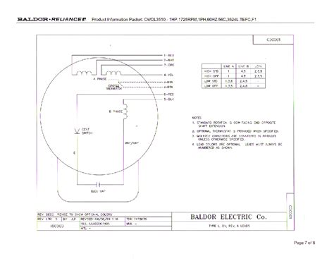 baldor motor wiring diagrams 3 phase 9 wire wiring